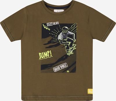 Tricou STACCATO pe galben neon / oliv / verde deschis / negru / alb, Vizualizare produs
