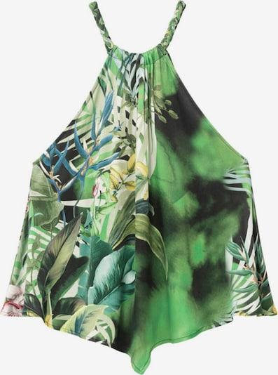 Desigual Bluza 'HAMAICA' u zelena / miks boja, Pregled proizvoda