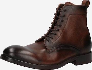 Hudson London Boots 'Cedar' in Brown