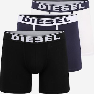 DIESEL Boxerky 'UMBX-SEBASTIAN' - námornícka modrá / čierna / biela, Produkt