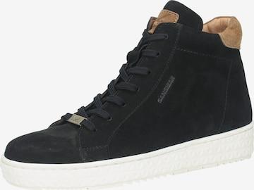SANSIBAR High-Top Sneakers in Black