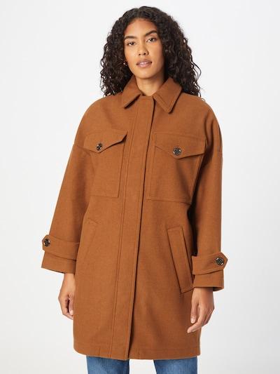 UNITED COLORS OF BENETTON Mantel in karamell, Modelansicht