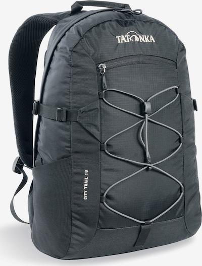 TATONKA Rucksack  'City Trail 19' in schwarz / weiß, Produktansicht