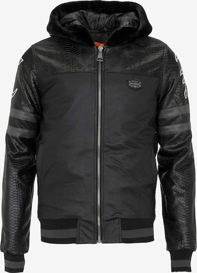 CIPO & BAXX Between-Season Jacket in Black, Item view