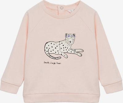 MANGO KIDS Sweatshirt 'BEAUTY' in rosa / schwarz, Produktansicht