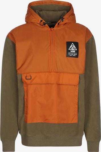 VANS Sweat-shirt en olive / orange, Vue avec produit