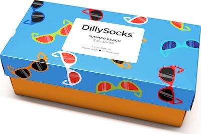 DillySocks Socken 'PSS20-03 Summer Beach' in mischfarben, Produktansicht