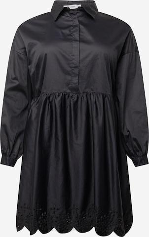GLAMOROUS CURVE Kleid 'AN3877X' in Schwarz