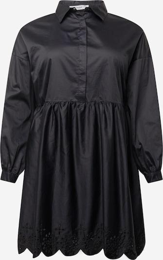 Rochie tip bluză 'AN3877X' GLAMOROUS CURVE pe negru, Vizualizare produs