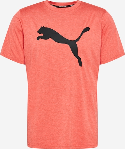 PUMA Funktionsshirt 'HEATHER CAT' in rot / schwarz, Produktansicht