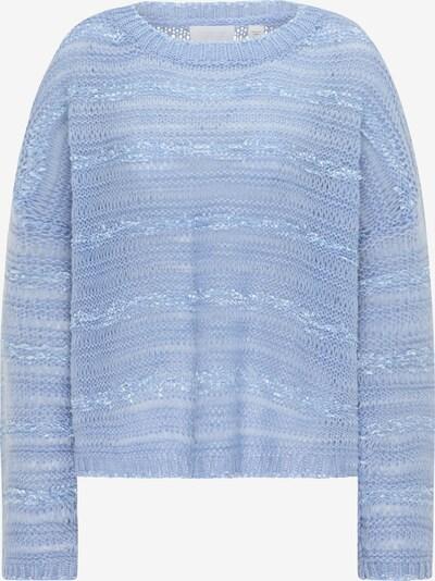 usha WHITE LABEL Oversized trui in de kleur Lichtblauw, Productweergave