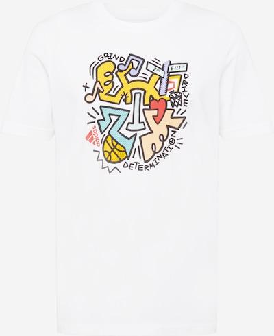 ADIDAS PERFORMANCE T-Shirt fonctionnel 'DON' en mélange de couleurs / blanc, Vue avec produit