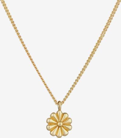 ELLI Halskette Blume in gold, Produktansicht