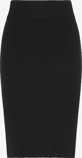 usha BLACK LABEL Strickrock in schwarz, Produktansicht