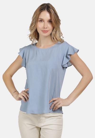 usha BLUE LABEL Blusenshirt in blau, Modelansicht