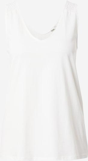 EDC BY ESPRIT Top in de kleur Offwhite, Productweergave