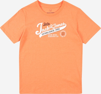 Jack & Jones Junior Tričko - oranžový melír / černá / bílá, Produkt