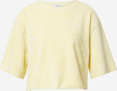 WEARKND Tričko - svetložltá / biela, Produkt