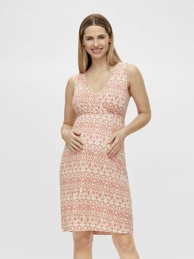 MAMALICIOUS Summer Dress 'Kianna' in Beige / Melon, View model