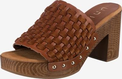 UNISA Pantolette in braun, Produktansicht