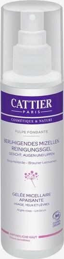 Cattier Reinigungsgel 'Rosa Heilerde & Brauner Leinsamen Beruhigendes Mizellen Pulpe' in transparent, Produktansicht