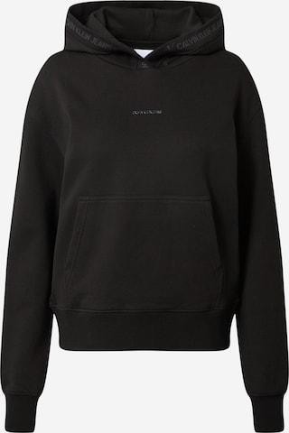 Calvin Klein Jeans Sweatshirt in Black