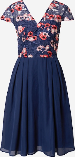Chi Chi London Koktejlové šaty - námořnická modř / růžová / červená, Produkt