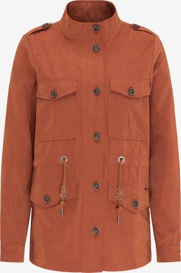 DreiMaster Vintage Jacke in orangerot, Produktansicht