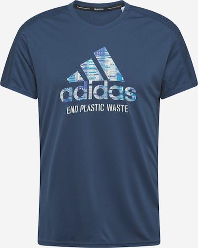 ADIDAS PERFORMANCE T-Shirt fonctionnel en bleu / bleu clair, Vue avec produit