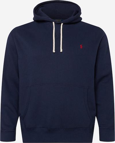 Polo Ralph Lauren Big & Tall Sweatshirt in marine / hellrot, Produktansicht