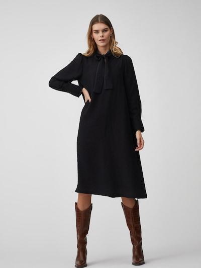 A-VIEW Midikleid 'Jilla LS' in schwarz, Modelansicht