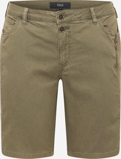 Zizzi Jeans 'JABBEY' in de kleur Kaki, Productweergave