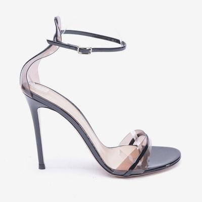 Gianvito Rossi Sandaletten in 39,5 in schwarz, Produktansicht