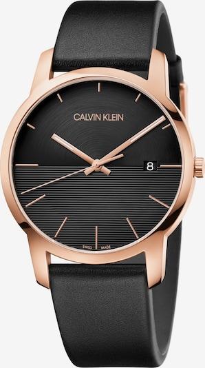 Calvin Klein Quarzuhr 'K2G2G6CZ' in gold / schwarz, Produktansicht