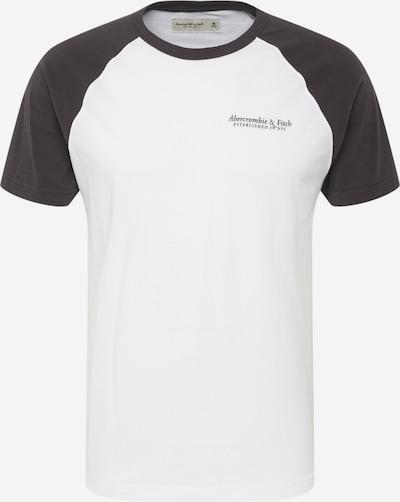 Abercrombie & Fitch Paita värissä antrasiitti / valkoinen: Näkymä edestä