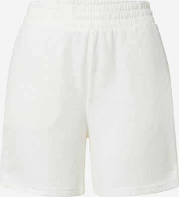 Gilly Hicks Панталон пижама 'HAPPY' в бяло