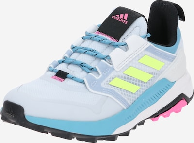 ADIDAS PERFORMANCE Chaussure de course 'TERREX TRAILMAKER' en bleu clair / gris clair / rose / blanc, Vue avec produit