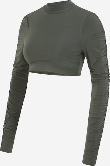 Missguided Maternity Shirt in khaki, Produktansicht