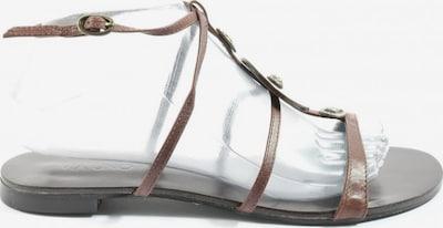 VIA UNO Römer-Sandalen in 39,5 in braun, Produktansicht