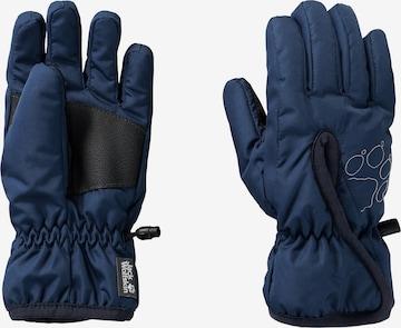 JACK WOLFSKIN Handschuhe 'EASY ENTRY K' in Blau
