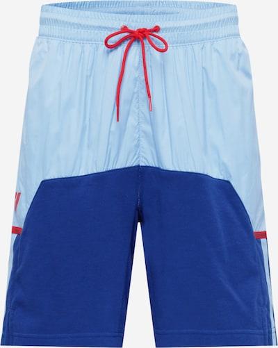 ADIDAS PERFORMANCE Športové nohavice - modrá / svetlomodrá / červená, Produkt