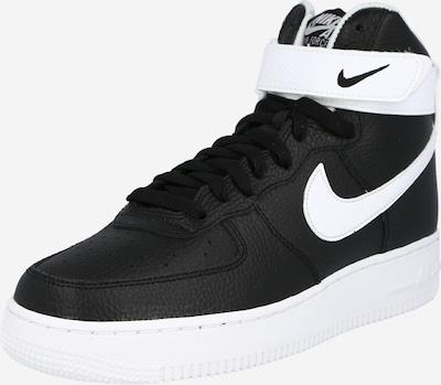 Nike Sportswear Kotníkové tenisky 'Air Force 1' - černá / bílá, Produkt