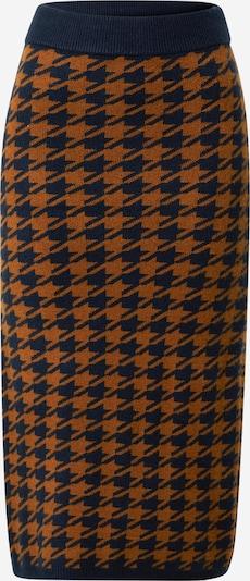 Y.A.S Rock 'Hadley' in dunkelblau / braun, Produktansicht