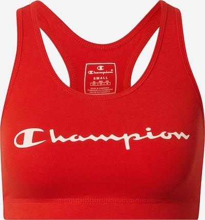Champion Authentic Athletic Apparel Športni nederček | rdeča / bela barva, Prikaz izdelka