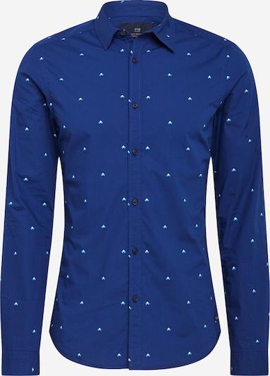 Dalykinio stiliaus marškiniai iš SCOTCH & SODA , spalva - mėlyna / turkio spalva / juoda / balta, Prekių apžvalga