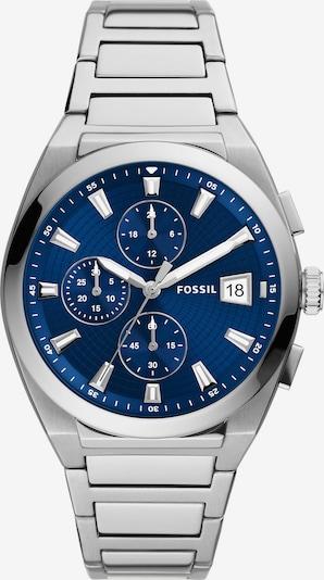 Analoginis (įprasto dizaino) laikrodis iš FOSSIL, spalva – mėlyna / sidabro pilka, Prekių apžvalga