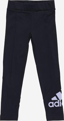 Pantaloni sport de la ADIDAS PERFORMANCE pe albastru
