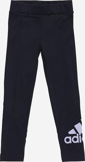 ADIDAS PERFORMANCE Sporthose in navy / hellgrau, Produktansicht