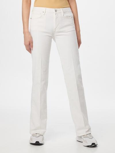 Pepe Jeans Jean 'AUBREY' en blanc denim, Vue avec modèle