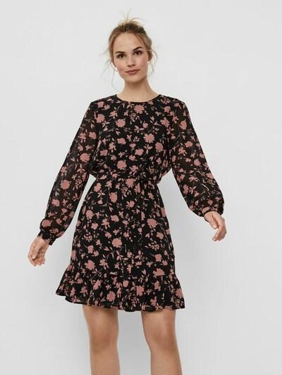 VERO MODA Kleid in rosa / schwarz, Modelansicht
